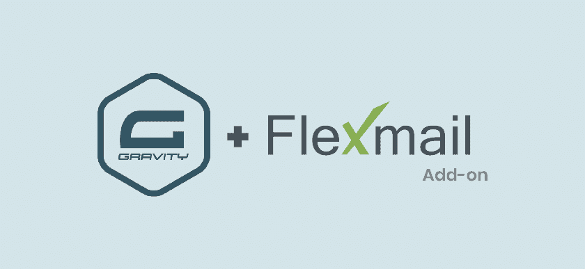 Gravity Forms Flexmail add-on banner